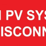 29-S Main PV System DC Disconnect