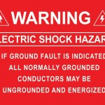 01-S Warning Electric Shock Hazard