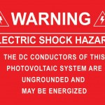 04-S Warning Electric Shock Hazard