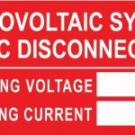 07-S Photovoltaic System AC Disconnect