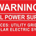 08-S Warning Dual Power Supply