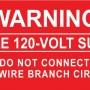Solar PV Warning Labels