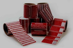 Solar Warning Labels & Stickers