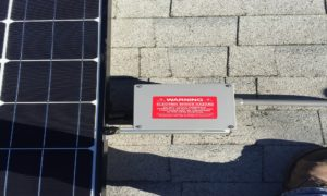 Solar Panels Warning Labels In United States