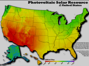 Photovoltaic Solar Resource Of The United States