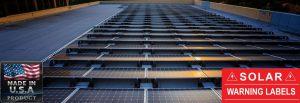 Solar Panels Warning Labels